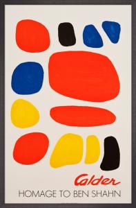 Homage to Ben Shahn, 1975 by Alexander Calder