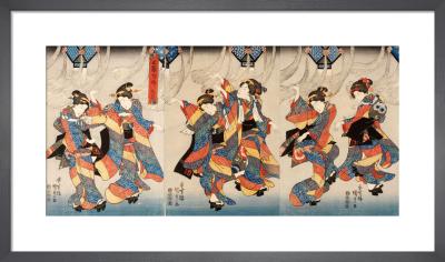 The Tanabata Festival by Utagawa Kunisada