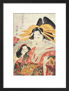 The Doll's Festival by Torii Kiyomine