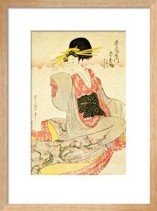 Akahime of The Akatsutaya House by Kitagawa Utamaro