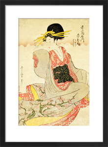 Akahime of The Akatsutaya House by Kitagawa Utamaro