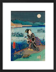 Summer scene by Utagawa Fusatane