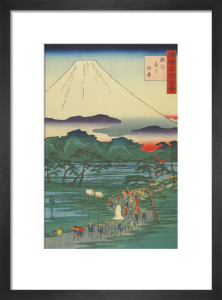 One hundred views of famous places by Utagawa Hiroshige