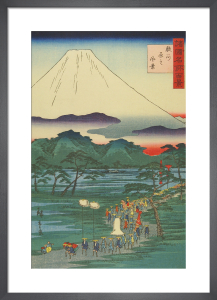 One hundred views of famous places by Utagawa Hiroshige I