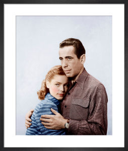 Lauren Bacall and Humphrey Bogart (Key Largo) 1948 by Hollywood Photo Archive