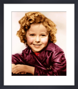 Shirley Temple (Bright Eyes) 1934 by Hollywood Photo Archive