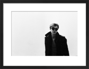 Andy Warhol, 1966 by Nat Finkelstein
