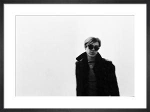Andy Warhol, 1966 by Nat Finkelstein