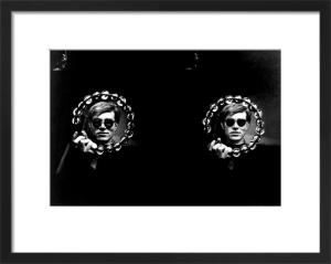 Double Tambourine, circa 1966 by Nat Finkelstein