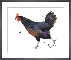 Black Hen by Alison Fennell