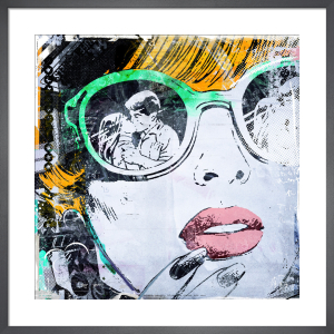 Sunglass Kiss by Teis Albers