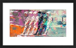 Astronaut Moonwalk by Teis Albers
