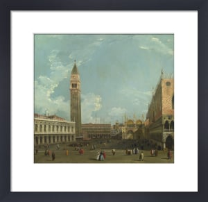 Venice: The Piazetta from the Molo, c.1740 by Studio of Canaletto