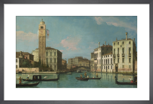 Venice: Entrance to the Cannaregio, 1734-42 by Giovanni Canaletto