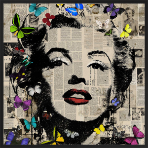 Marilyn - Butterflies 3 by VeeBee