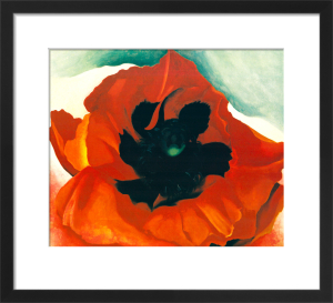 Red Poppy, 1927 by Georgia O'Keeffe