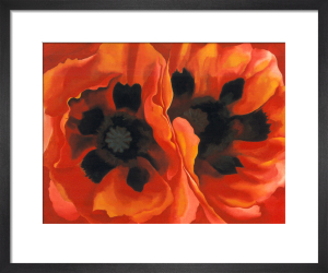 Oriental Poppies, c.1927 by Georgia O'Keeffe