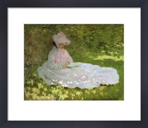 The Reader (La liseuse), c.1872-74 by Claude Monet