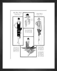 New Fashions Notes, 1927 by Gordon Conway