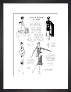 Fashions for the Stage Production of Peggy by Gordon Conway
