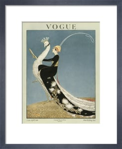 Vogue Late April 1918 by George Wolfe Plank