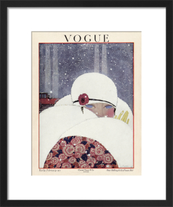 Vogue Early February 1919 by Georges Lepape
