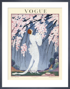 Vogue Early April 1919 by Helen Dryden