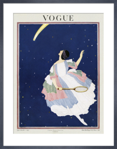 Vogue Late October 1921 by George Wolfe Plank