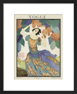 Vogue Early February 1921 by Helen Dryden