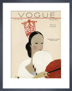 Vogue Late October 1923 by Eduardo Benito