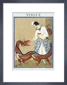 Vogue Late January 1923 by George Wolfe Plank