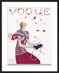 Vogue Early February 1924 by Eduardo Benito