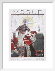 Vogue Late January 1925 by Georges Lepape