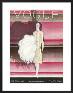 Vogue Early October 1925 by Guillermo Bolin