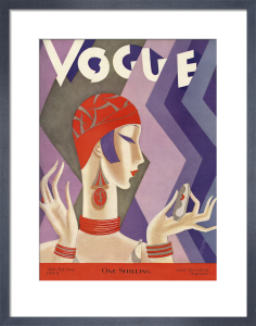 Vogue Late July 1926 by Eduardo Benito