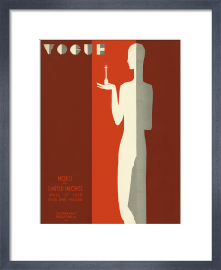 Vogue 17 April 1929 by Eduardo Benito