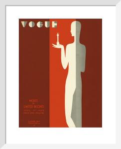 Vogue 17 April 1929 by Eduardo Benito