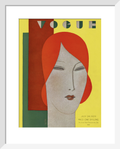 Vogue 24 July 1929 by Eduardo Benito