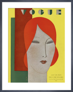 Vogue 24 July 1929 by Eduardo Benito