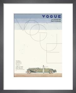 Vogue 25 June 1930 by Georges Lepape