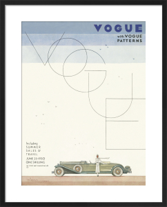 Vogue 25 June 1930 by Georges Lepape
