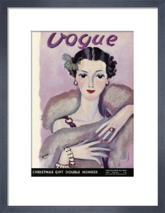 Vogue 14 November 1934 by Eduardo Benito
