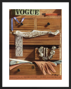 Vogue 30 March 1938 by Pierre Roy