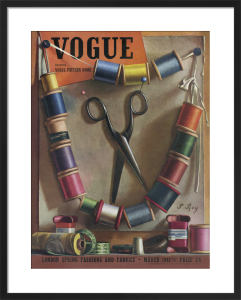 Vogue March 1942 by Pierre Roy