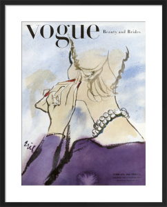 Vogue February 1946 by (Eric) Carl Erickson