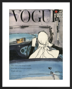 Vogue 14 November 1953 by René Bouché