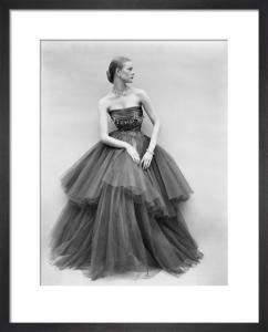 Vogue September 1951 by Don Honeyman