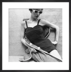 Vogue July 1952 by Henry Clarke