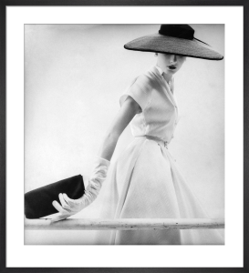Vogue April 1954 by John Sadovy