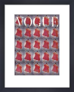 Vogue December 1954 by Clifford Coffin